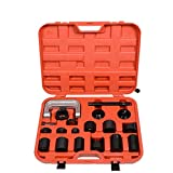Lebeauty 21PCS Ball Joint Auto Repair Tool Service Remover Installer Master Adapter Kit Black