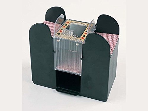 Casino Automatic Card Shuffler 1-6 Deck Electric Poker Blackjack Bridge UNO by CHH