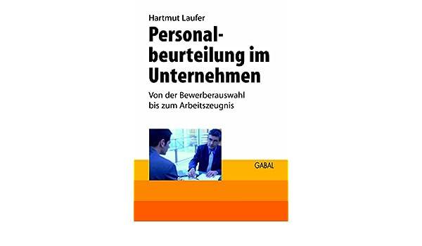 Amazon.com: Personalbeurteilung im Unternehmen: Von der ...