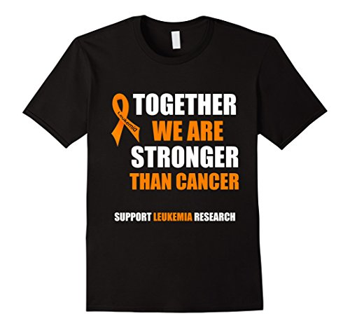 T-shirts Leukemia - Men's Leukemia Awareness T Shirt | Wear Orange T Shirt XL Black