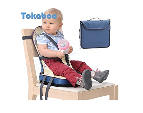Baby HighChair Portable Travel Safety Belt Booster Feeding High Chair Seat Cover Sack Cushion Bag for Baby Kid