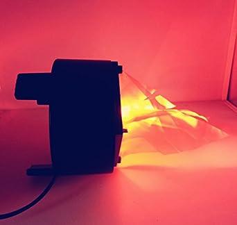 f/ête, No/ël D/écoration matmo Effet lumi/ère flammes feu LED 3/W artificielle Sc/ène Charbon Naturel Bac Lampe d/écoratifs pour la maison bar 20 cm 3.00 watts