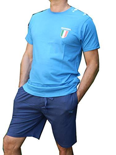 Calcio Pigiama Completo blu Diadora Nazionali Bluette Maglia Uomo wv4RXxPq