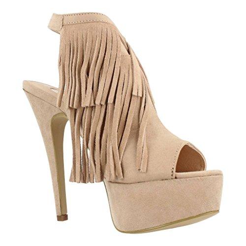 Sandalias y chanclas para mujer, color Beige , marca LA STRADA, modelo Sandalias Y Chanclas Para Mujer LA STRADA 9020S Beige Beige