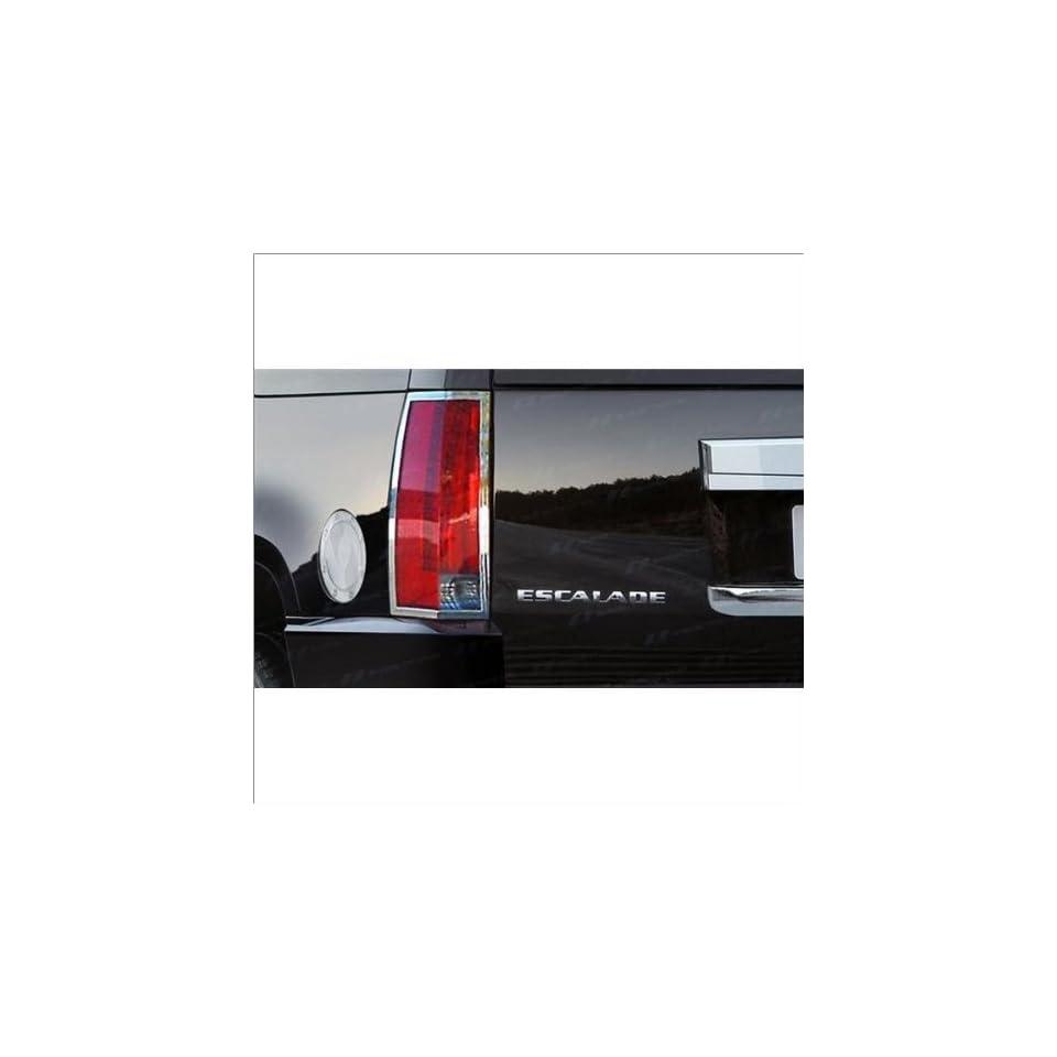 SES Trims Chrome Tail Light Trim 07 11 Cadillac Escalade