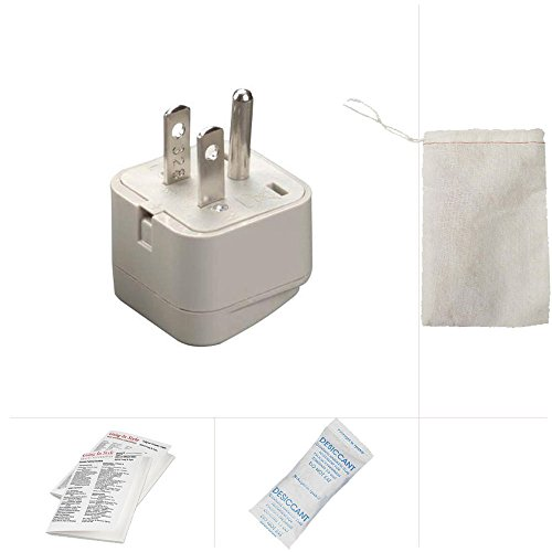 Going In Style Grounded Adapter Plug China Australia to America GUA CE - Outlets Premium Americas Las