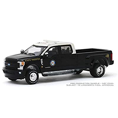 Greenlight Dually Drivers Series: 2020 Ford F-350 Lariat - Florida Highway Patrol 1/64 Scale: Toys & Games