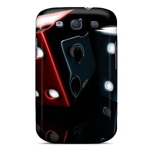 New Style Robearke Hard Case Cover For Galaxy S3- Dice