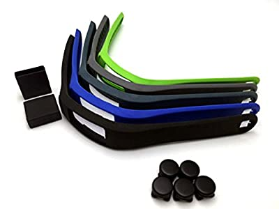 Colorful Replacement Bands with Clasps for Garmin Vivofit 2 (No Tracker, Replacement Bands Only) (5PCS SMALL)