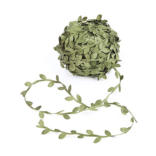 LazyMe Artificial Leaf Garlands Fake DIY Vine, 84 Yard, Artificial Fake Vines, Foliage Green Leaves Decorative Home Wall Garden Wedding Party Wreaths Decor from LazyMe