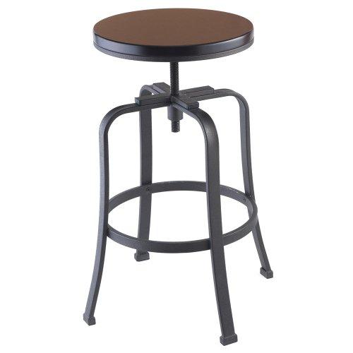 Kitchen Bar Stools Usa: CHEFS Adjustable Kitchen Counter Bar Stool