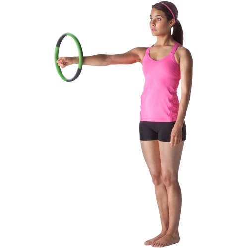 Magic Circle by Lotus Exercise Hoop for Fast Targeted Toning