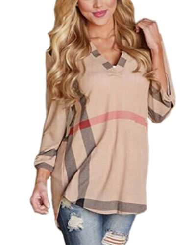 Pink 3/4 Sleeve Shirt - 9