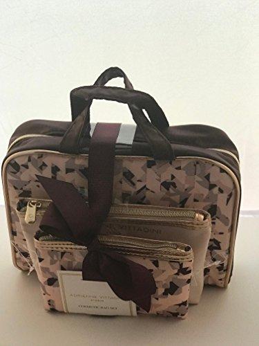 Adrienne Jewelry Set (Adrienne Vittadini Three-piece Cosmetic Bag Set)