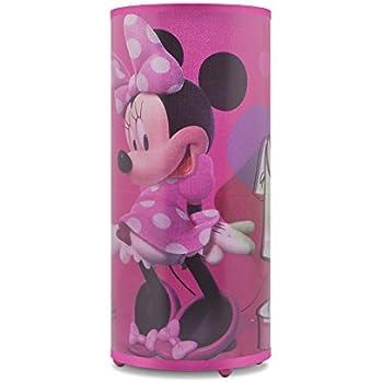 Amazon disney minnie mouse eva lamp toys games disney minnie mouse cylinder lamp aloadofball Image collections