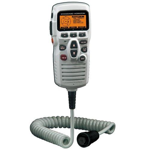 Standard Horizon Ram3+ Remote Station Microphone, White (Part #Cmp31W By Standard Horizon) ()
