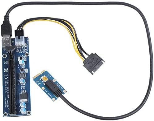 PCI-E PCIe Express 1x To 16x Extender Riser USB 3.0 Card Mining