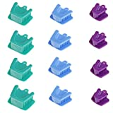 12pcs/4sets Dental Mouth Prop Bite Block Cushion