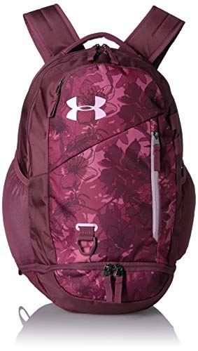 Under Armour Hustle 4.0 Backpack, Pace Pink (669)/Pink Fog, One Size Fits All (Under Armour Womens 3 4 Sleeve)
