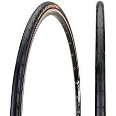 Continental 0118364 Ultra Gatorskin 650 x 23 Black Tire has a durable carbon black mixture, a well regarded puncture protection system and the DuraSkin-anti-cut fabric to turn the Ultra GatorSkin into a real long distance runner. In varying w...