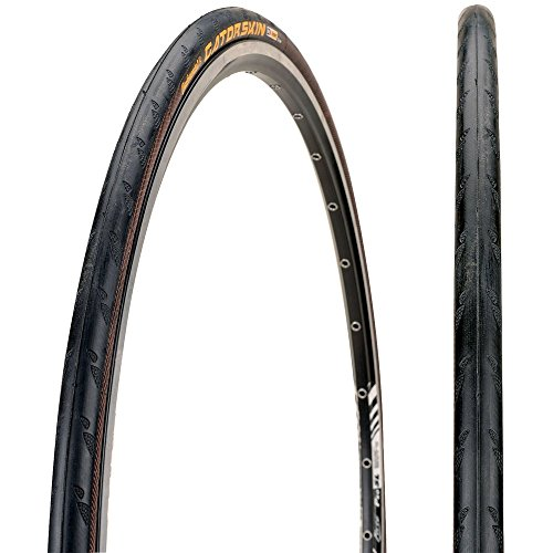 (Continental Ultra Gatorskin Bicycle Tire (650x23, Wire Beaded, Black))
