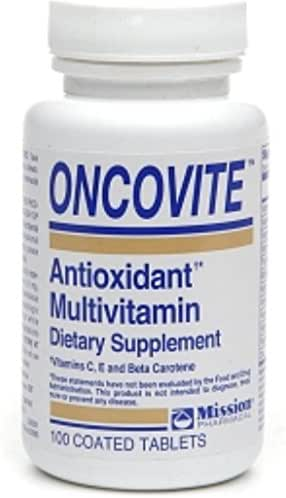 Oncovite Antioxidant Multivitamin, Coated Tablets 100 ea (Pack of 2)