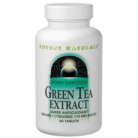 Extrait de thé vert 500mg 120 comprimés