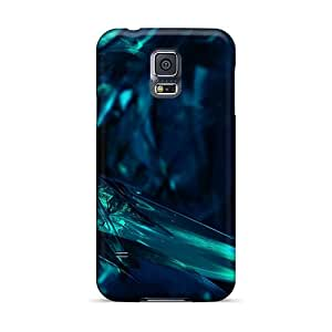 High Grade Modernlistyle Flexible Tpu Cases For Galaxy S5 - Abstract 3d Background