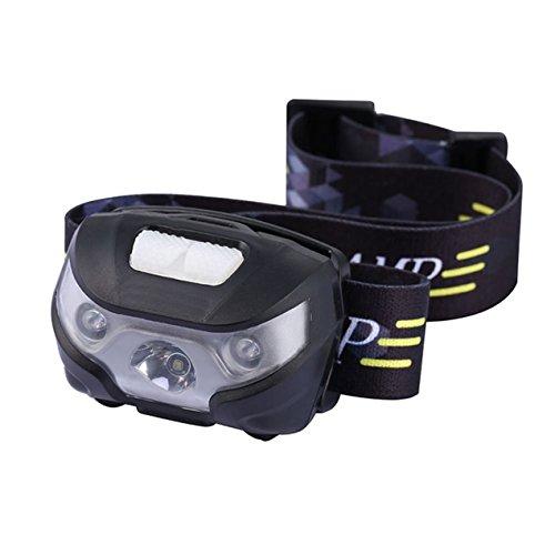 1 Set 3000 Lumens CREE XPE Halogen LED Headlamp 3 Mode Head Lamp 30w Body Motion Sensor Flashlight Headlight Heart-stirring Fashionable Ultra Xtreme Tactical Bright Running Light w/USB Rechargeable
