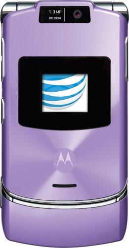 (Motorola RAZR V3xx Lavender Phone (AT&T) Version 1)
