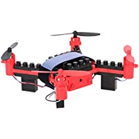 Goolsky Flytec T11S Wifi FPV 0.3MP Camera Drone 3D flip Headless Mode DIY Building Block Altitude Hold G-sensor Quadcopter