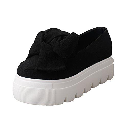 Koreanische Version Der Vielseitigen Plattform-Schuhe,Pine Cake Flache Mund Schuhe,Aber Das Philharmonic Shoes A