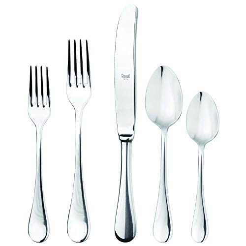 - Mepra 1020B22005 Brescia 5 Piece Place Setting, Stainless Steel
