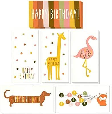 Tarjetas de cumpleaños variadas para niños con texto en ...