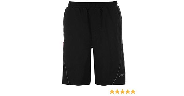 Boys Fleece Shorts Elasticated Waistband Size 7-13 Slazenger/
