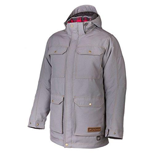 Insulated Tundra Jacket (Klim Tundra Parka Men's Ski Snowmobile Jacket - Gray / 3X-Large)