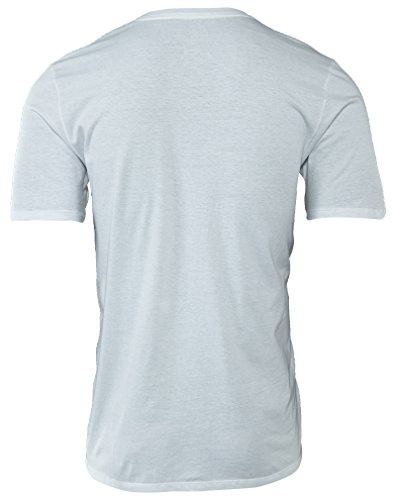 Nike Pure Money Bank Note, Camiseta de manga corta para hombre, Blanco, S