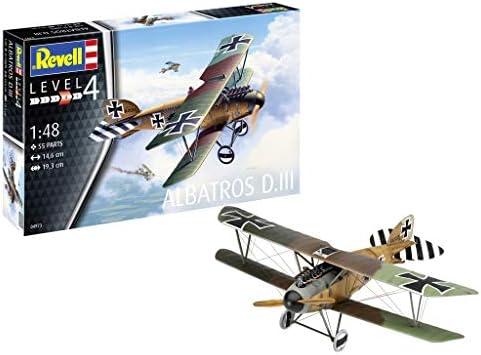 ドイツレベル 1/48 ドイツ軍 アルバトロス DIII プラモデル 04973