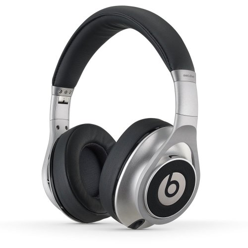 Beats Executive Over-Ear Headphones (Silver) (Wholesale Beats)