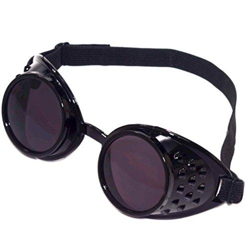 Steampunk Goggles (Black) -