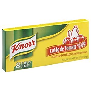 Knorr Tomato/Chicken Flavored Boullion, 8 cubes