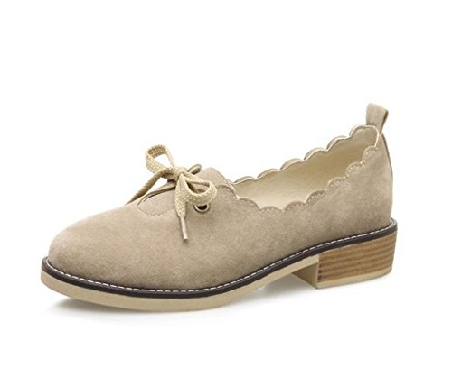 Heel Office Believed On Toe Daily for Low Shoes Women Walking apricot Pointy Slip Flats xFqSCwpg