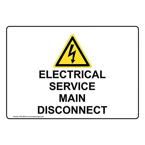 service disconnect sign - 7