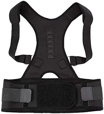 Orthopedic Back Support Belts Magnetic Posture Corrector Correct Brace 10 Magnets Shoulder Waist Lumbar for Women Men