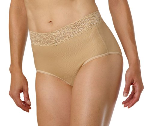 ExOfficio Women's Give-N-Go Lacy Full Cut Brief, Nude, X-Small