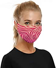 Changeshopping Washable Reusable Face Shield Elastic Ear Loop Cover Full Face Anti-Dust Fashion Protective Fac