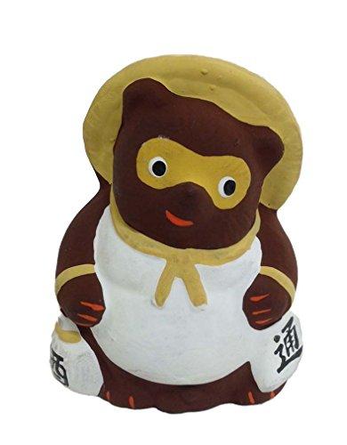 Tanuki Badger Hakata Doll Figurine