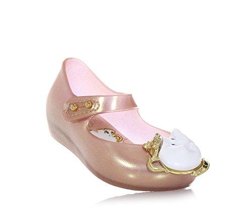 MINI MELISSA - Rosa Ballerina, made in Brazil, ganz aus MELFLEX-Kunststoff, einem duftenden, Mädchen Rosa