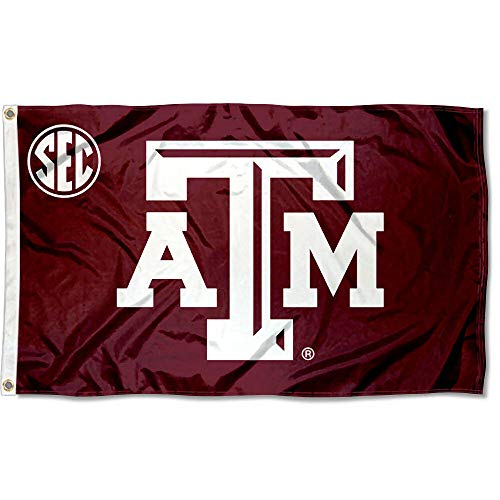 (College Flags and Banners Co. Texas A&M Aggies SEC Flag)