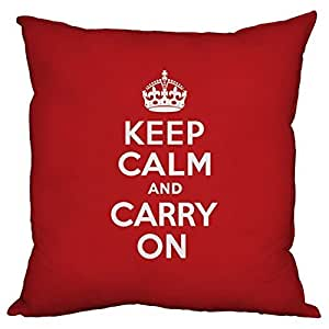 Lfarncomboutlet Keep Calm Gifts 387 Custom Zippered Square Pillowcase 18x18 (one side) Cushion Cover Case Pillow